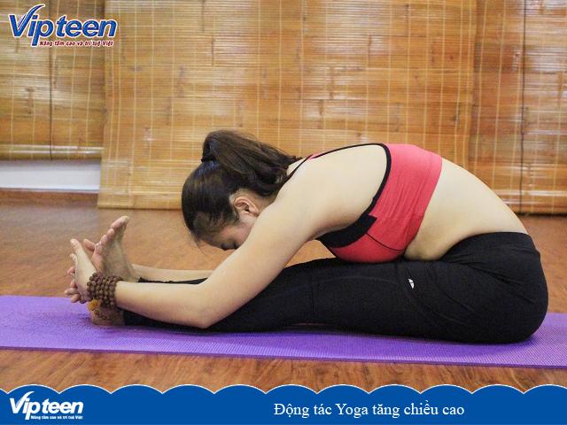 Động tác Yoga giúp tăng chiều cao