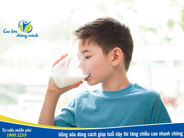 Sữa tăng chiều cao tốt nhất cho tuổi dậy thì
