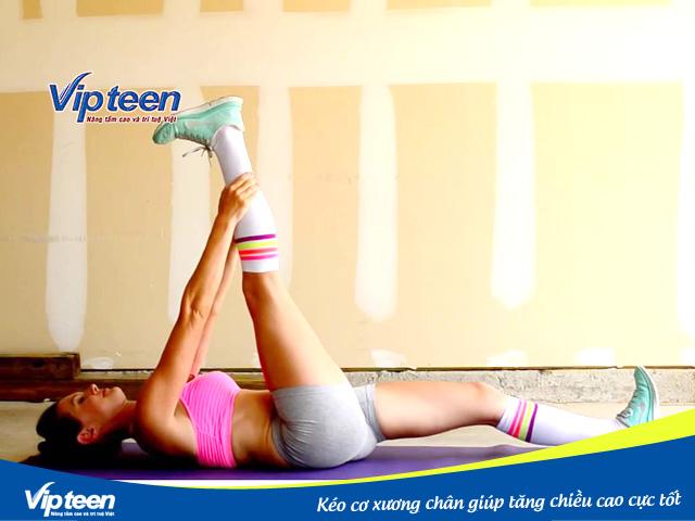Bài tập kéo cơ xương chân nên tập mỗi ngày để đạt chiều cao như ý
