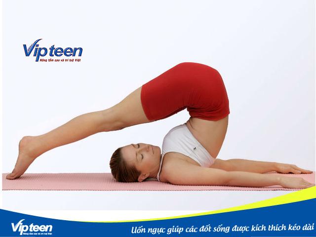 Bài tập uốn ngực sẽ kéo căng cột sống và làm dài lưng