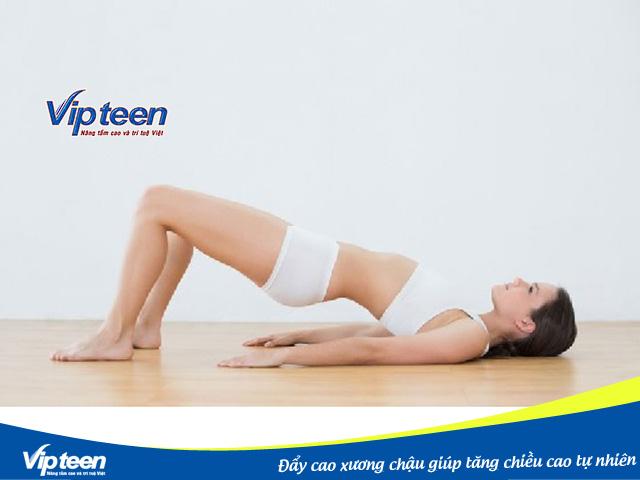 Bài tập Đẩy cao xương chậu nên được thực hiện mỗi ngày