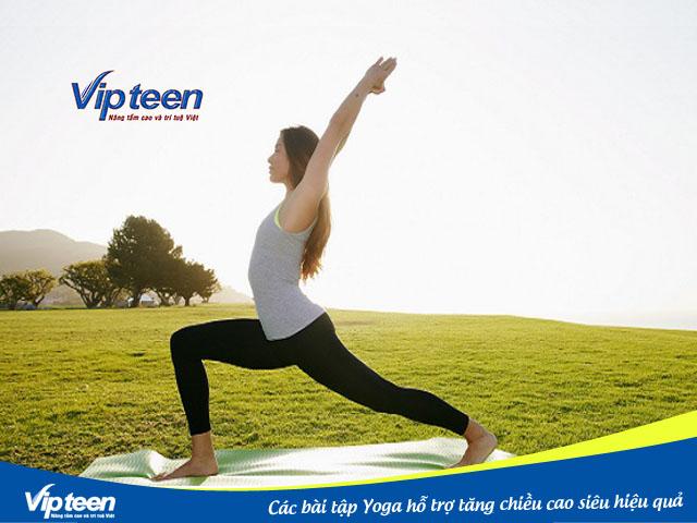 Tập Yoga giúp bạn đạt được chiều cao mơ ước