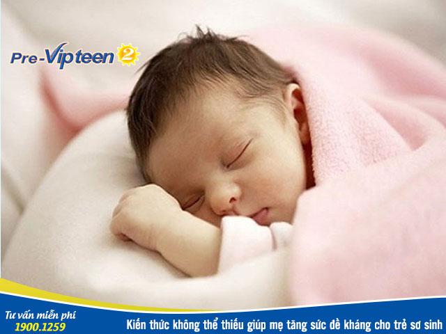 Cách tăng sức đề kháng cho trẻ sơ sinh