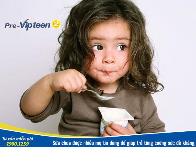 Thực phẩm tăng cường sức đề kháng cho trẻ