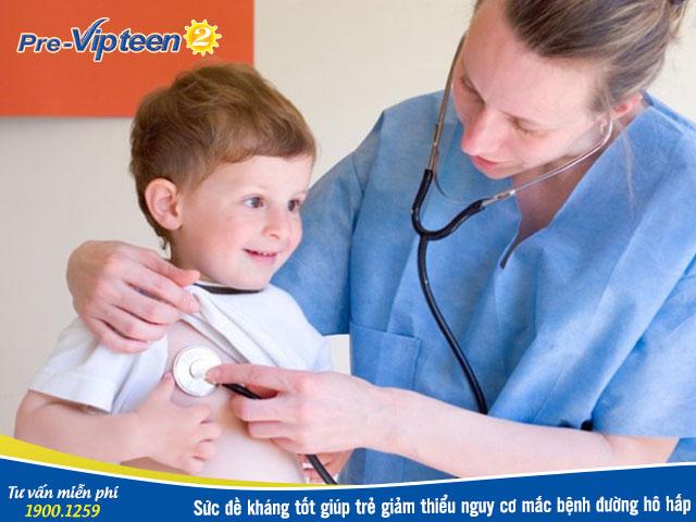 Thuốc tăng sức đề kháng đường hô hấp cho trẻ