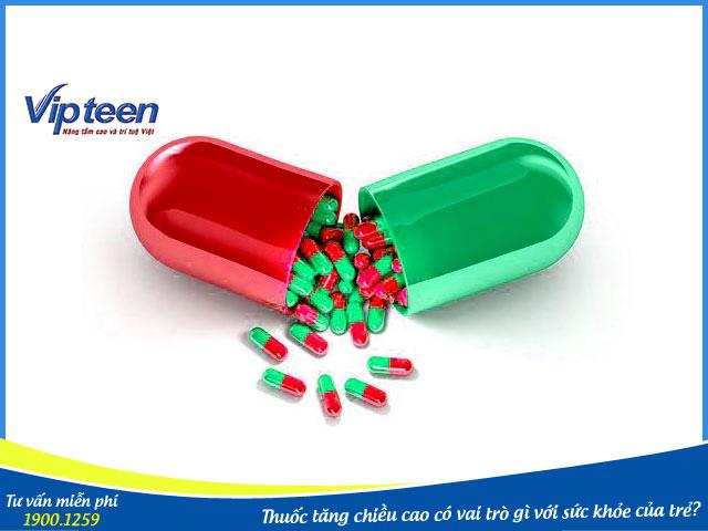 Thuốc tăng chiều cao có vai trò bổ sung dinh dưỡng cần biết