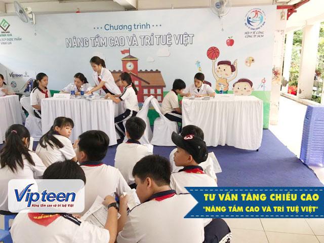 Tư vấn tăng chiều cao tại trường THCS Bình An - Quận 8, TP Hồ Chí Minh