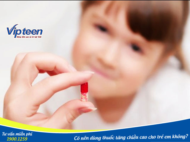Lựa chọn thuốc / thực phẩm tăng chiều cao loại nào phù hợp với trẻ em