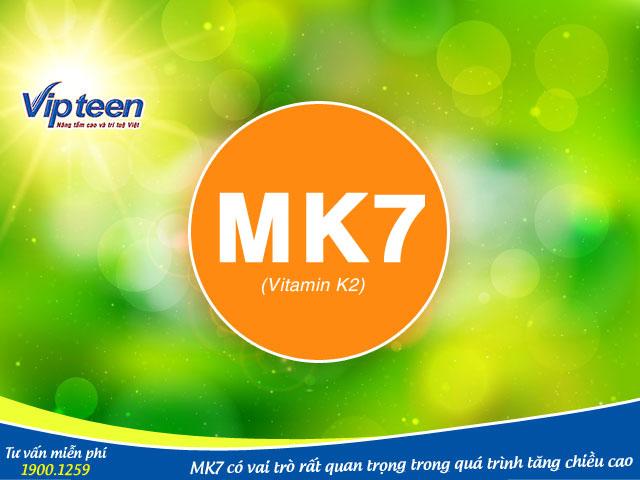 Vai trò của MK7 với xương