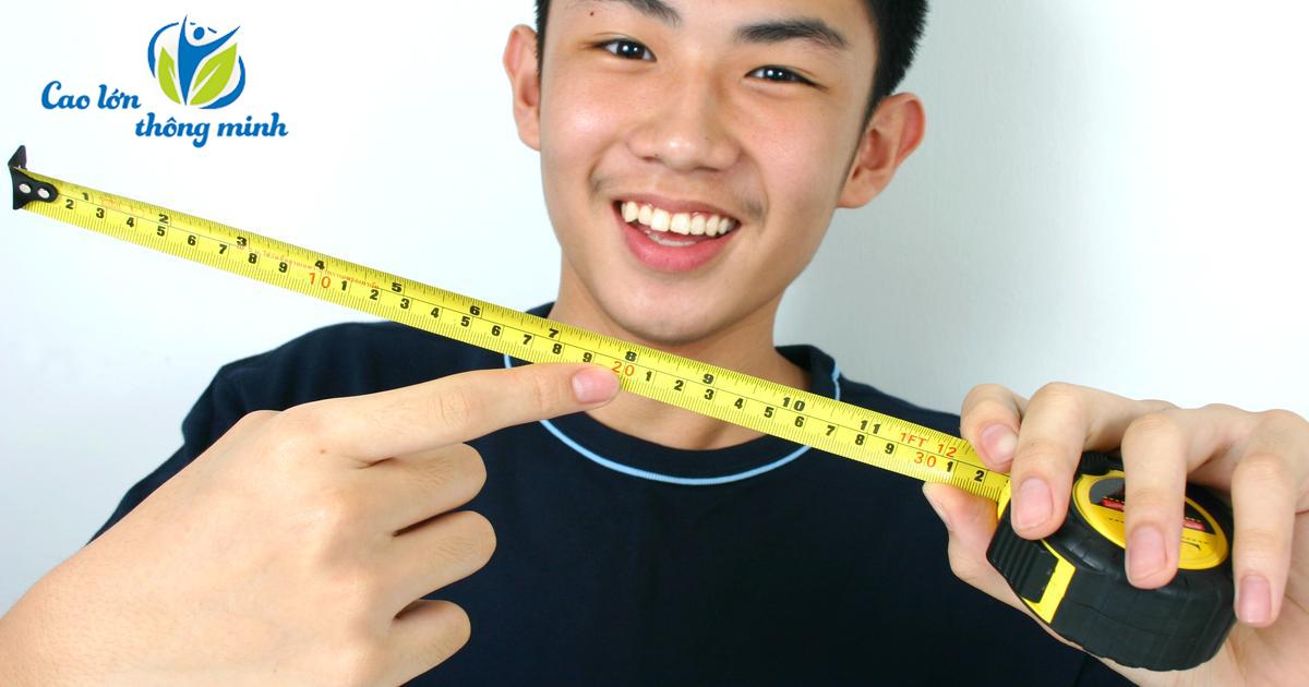 cách tăng chiều cao cho tuổi 20