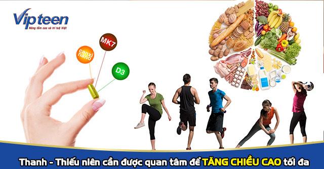 Thuốc tăng chiều cao cho thanh niên
