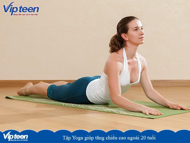Tập Yoga giúp tăng chiều cao khi đã ngoài 20 tuổi