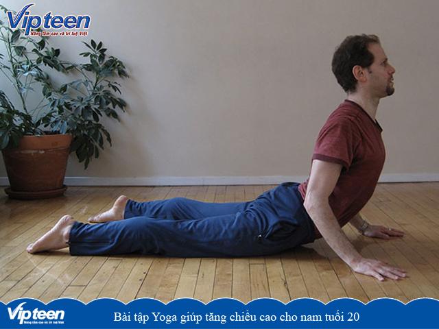 Bài tập Yoga giúp tăng chiều cao ở tuổi 20 nam
