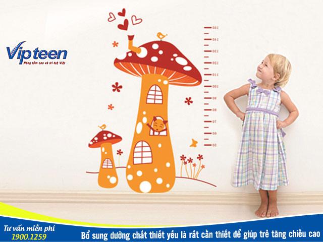 Thuốc uống tăng chiều cao cho trẻ