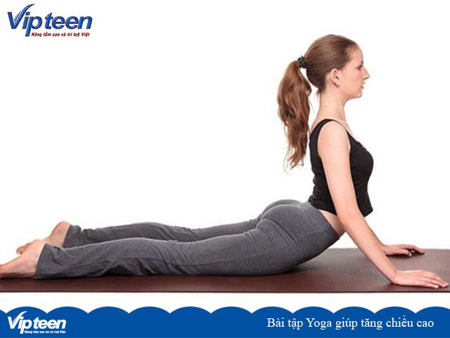 Bài tập Yoga rắn hổ mang giúp tăng chiều cao