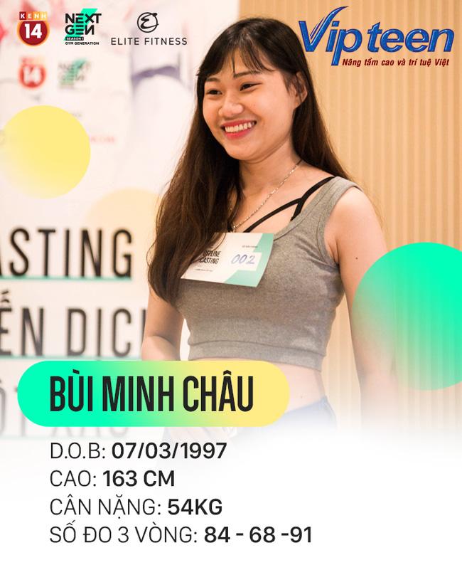 Thí sinh: Bùi Minh Châu