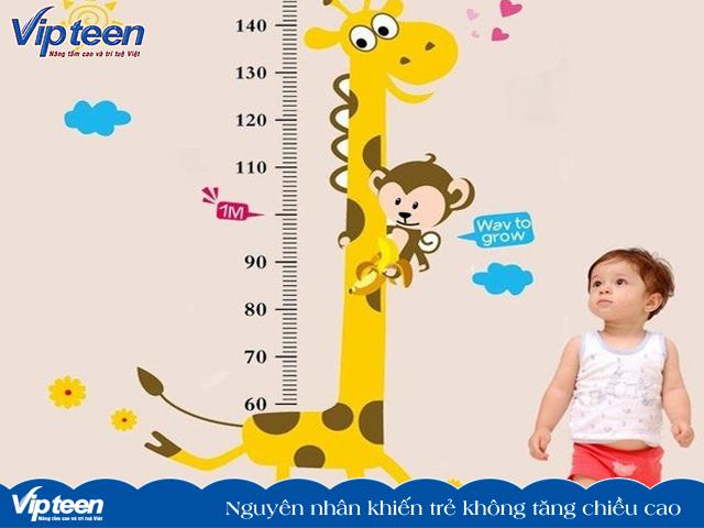 Những lí do khiến trẻ không tăng chiều cao được