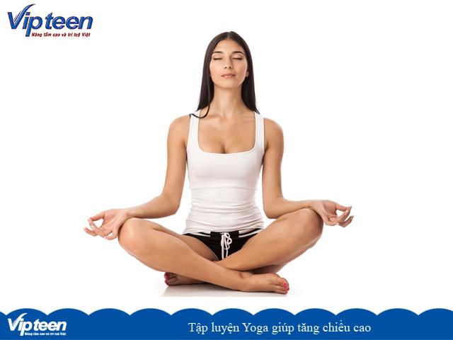 Động tác Yoga Sukhasana giúp tăng chiều cao tuổi 25