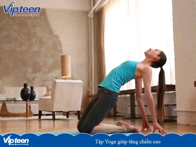 Tập yoga giúp tăng chiều cao