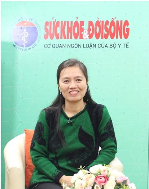 PGS.TS Nguyễn Thị Diệu Thuý.
