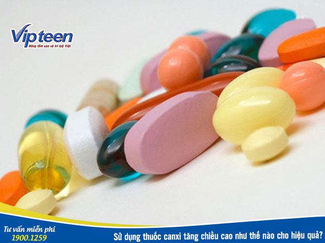 Thuốc bổ sung canxi tăng chiều cao hiệu quả