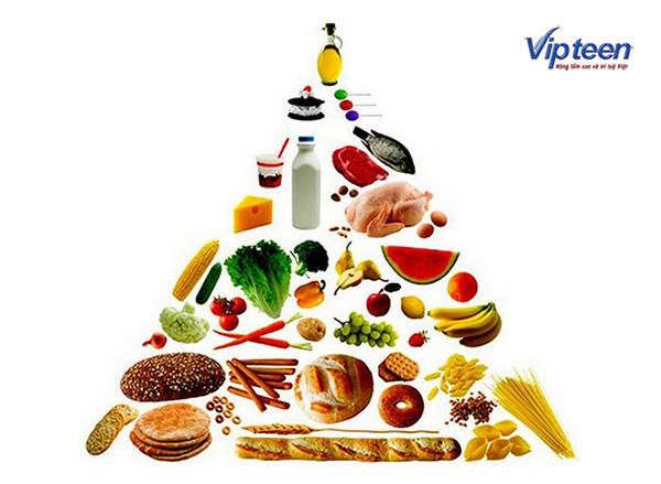 chế độ dinh dưỡng cho nam tăng chiều cao