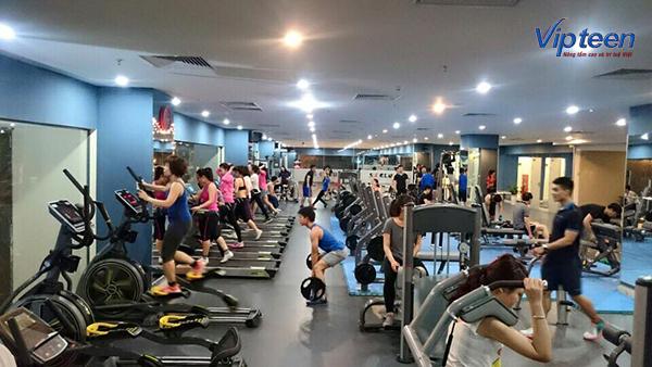 bài tập giúp tăng chiều cao ở tuổi 17 - gym