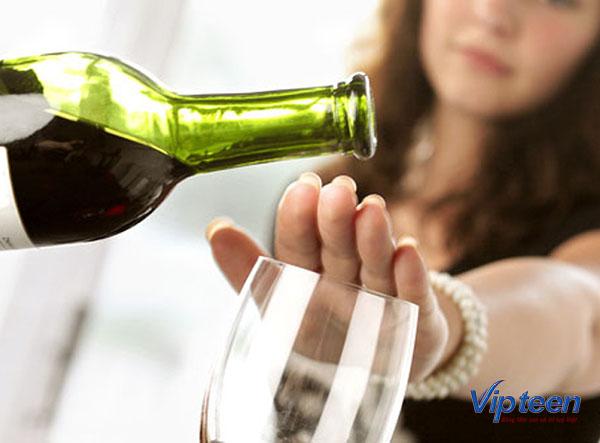 cách tăng chiều cao ở tuổi 16 - kiêng rượu bia