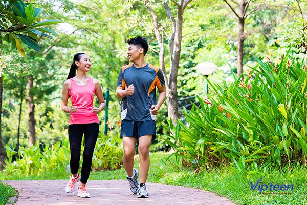 bài tập tăng chiều cao cho nam - chạy bộ