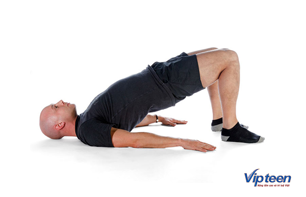 bài tập tăng chiều cao cho nam - giãn xương chậu