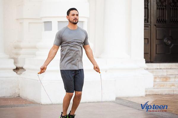 bài tập tăng chiều cao cho nam - nhảy dây