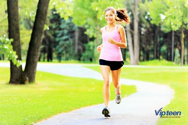 bài tập tăng chiều cao ở tuổi 15 - chạy bộ