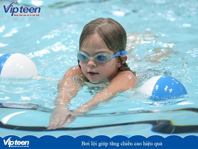 bài tập tăng chiều cao trong vòng 3 tuần - bơi lội