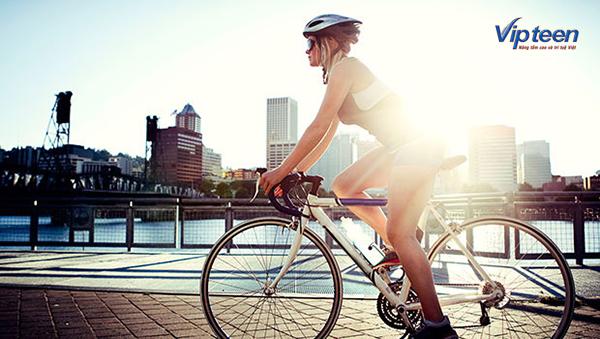 bài tập tăng chiều cao trong vòng 3 tuần - đạp xe