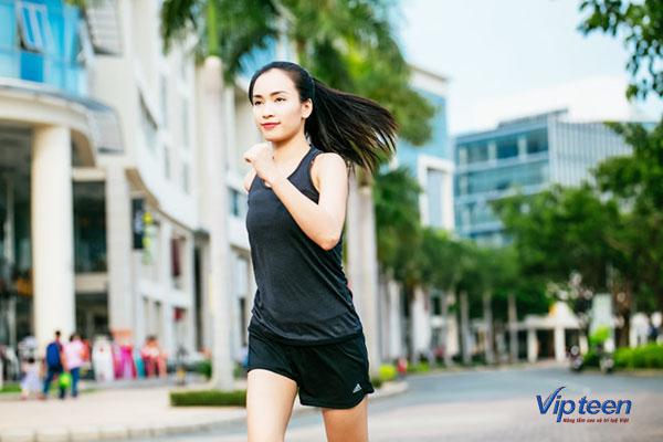 cách tăng chiều cao ở tuổi 16 cho nữ - chạy bộ