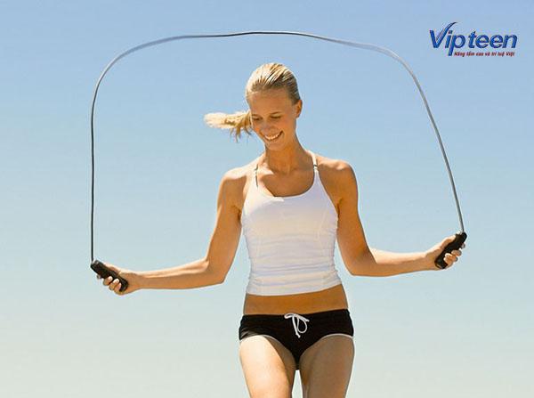 cách tăng chiều cao ở tuổi 16 cho nữ - nhảy dây