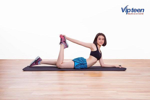 cách tăng chiều cao ở tuổi 16 cho nữ - động tác giãn cơ
