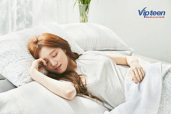cách tăng chiều cao ở tuổi 16 cho nữ - ngủ nghỉ hợp lý