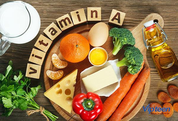 cách tăng chiều cao ở tuổi 16 cho nữ - vitamin A