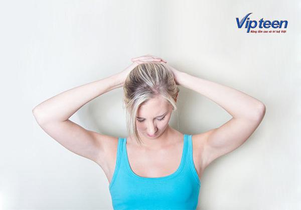bài tập tăng chiều cao cho nữ bằng cách giãn cơ cổ