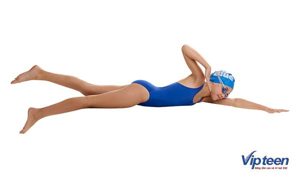 bài tập tăng chiều cao cho nữ - bơi trên cạn