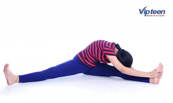 bài tập tăng chiều cao cho nữ - động tác xoạc chân