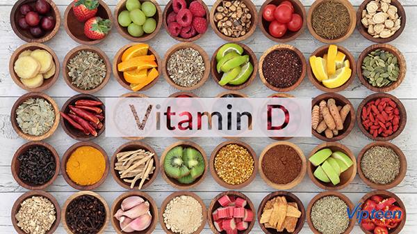 cách tăng chiều cao - bổ sung vitamin d