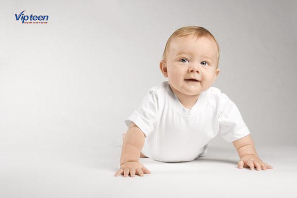 vận động là cách tăng chiều cao cho trẻ sơ sinh