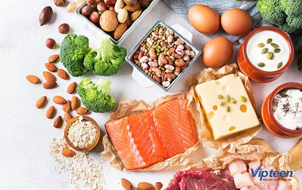 dinh dưỡng hợp lý là cách tăng chiều cao ở tuổi dậy thì