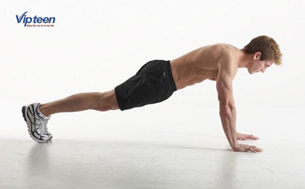 cách tăng chiều cao trong 1 ngày với bài tập chống đẩy