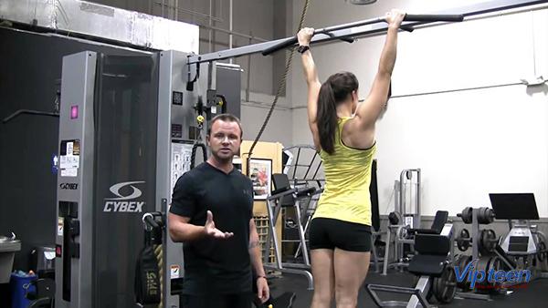 cách tập xà đơn tăng chiều cao cho nữ - tập nắm xà đúng cách