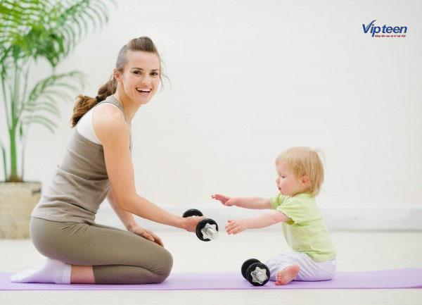 tăng chiều cao cho bé bằng cách vận động thường xuyên