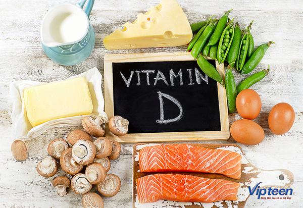 tăng chiều cao ở tuổi 17 nữ - vitamin D