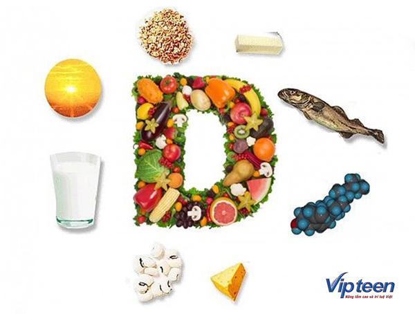 thực phẩm giúp tăng chiều cao ở tuổi dậy thì - vitamin d
